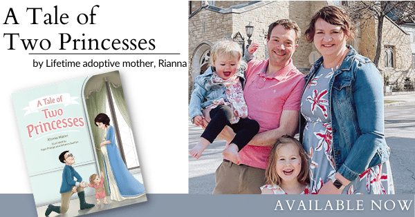 New Children's Book About Adoption – A Tale of Two Princesses